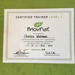 MovNat certification